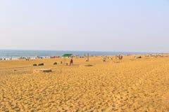 普里海滩 免版税库存图片