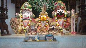 普里Jagannath斯瓦米 库存图片
