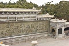 普陀山寺庙 免版税库存照片