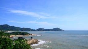 普陀山山紫竹林 免版税库存照片