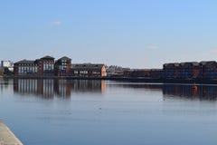 普雷斯顿船坞 免版税库存图片
