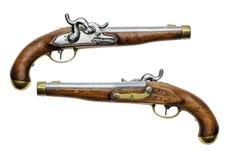 普鲁士人的撞击声手枪 免版税库存图片