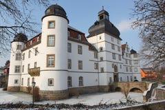 普费德尔巴赫城堡 免版税库存图片