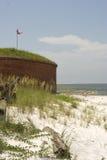 景气有历史的油保护站点 图库摄影