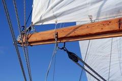 景气横向风帆 免版税图库摄影