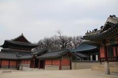 景福宫宫殿光亮的祝福宫殿  免版税库存照片