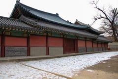 景福宫宫殿光亮的祝福宫殿  图库摄影