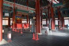 景福宫宫殿内部 图库摄影