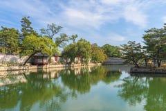 景福宫宫殿在汉城,韩国 库存照片