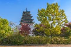 景福宫宫殿在汉城,韩国 库存图片