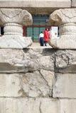 景福宫宫殿的游人 库存图片