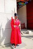 景福宫宫殿的皇家加尔省 免版税库存照片