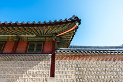 景福宫宫殿 免版税图库摄影