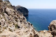 景色在Faros。 库存照片