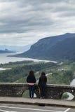 景色议院,哥伦比亚河峡谷,俄勒冈 图库摄影