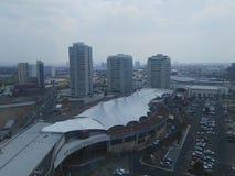 景色desde旅馆拉金塔,普埃布拉 库存照片