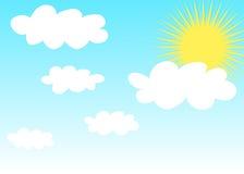 晴朗的天气 库存照片