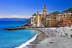 晴朗的意大利的颜色 库存图片