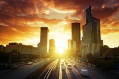 晴朗的早晨和埃佛尔铁塔,巴黎 库存图片