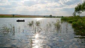 晴朗的池塘时间间隔 影视素材