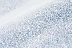 晴朗背景的雪 库存照片