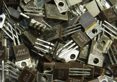 晶体管 库存图片