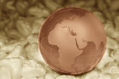 水晶地球 免版税图库摄影