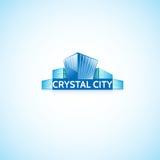 水晶城市 图库摄影