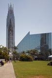 水晶大教堂 库存照片