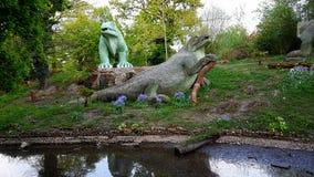 水晶宫公园 免版税库存照片