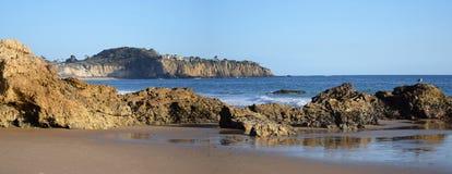 水晶小海湾国家公园,南加州看法  库存图片