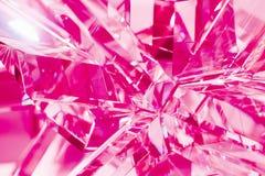 水晶折射抽象紫色背景  库存照片