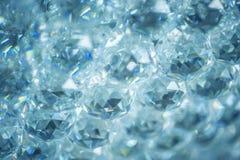 水晶抽象背景 免版税库存图片