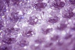 水晶抽象背景 免版税库存照片