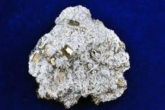 晶族硫铁矿 库存照片
