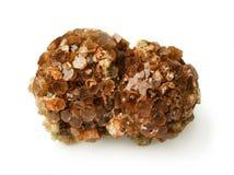 晶族aragonite 图库摄影