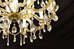 水晶枝形吊灯 库存图片
