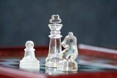水晶比赛 免版税库存照片