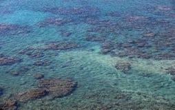 水晶海水在台湾 图库摄影
