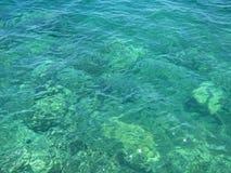 水晶海滨 库存照片