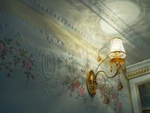 水晶灯台 免版税图库摄影