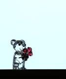 水晶熊 免版税图库摄影