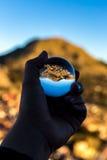 水晶球的科帕卡巴纳 免版税图库摄影