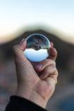 水晶球的科帕卡巴纳 免版税库存图片