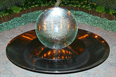 水晶球 免版税库存照片