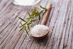水晶盐 免版税库存照片