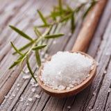 水晶盐 免版税库存图片