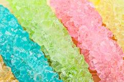 水晶糖纹理 图库摄影