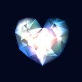 水晶重点 免版税库存照片