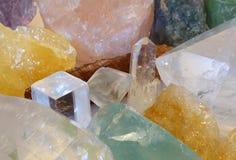 水晶洞珍宝 库存照片
